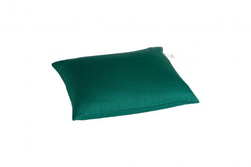 Grikių lukštų pagalvė (40x30 cm, žalia)