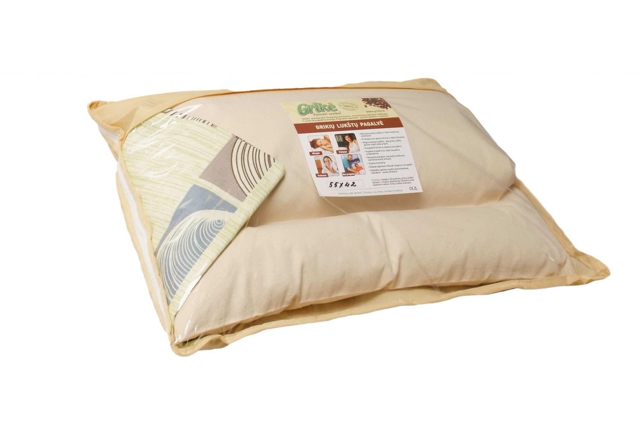 comfycomfy usa buckwheat hull pillow x the comfysleep detail in made