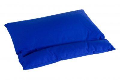Grikių lukštų pagalvė (55x42 cm, mėlyna)