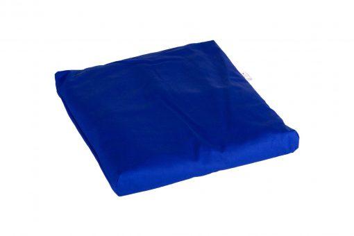 Grikių lukštų pagalvėlė meditacijai (42x42 cm, mėlyna)
