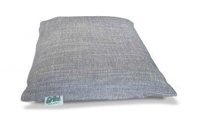 Grikių lukštų pagalvėlė (35×35 cm, melsva)