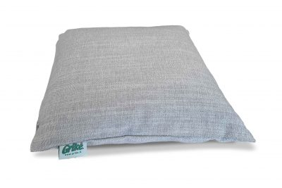 Grikių lukštų pagalvėlė (35×35 cm, pilka)