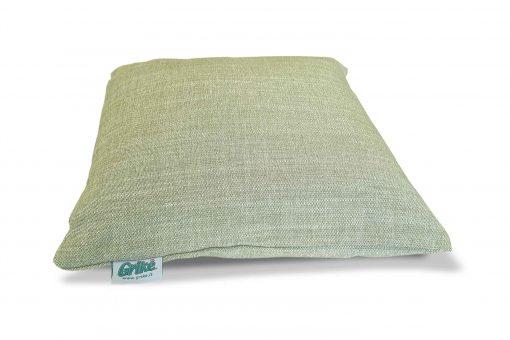 Grikių lukštų pagalvėlė (35×35 cm, žalsva)