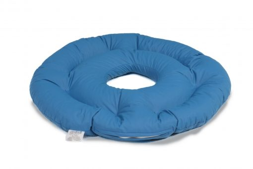Grikių lukštų pagalvė dubens srities pragulų profilaktikai iš higieninės medžiagos