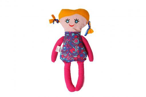 Grikių lukštų žaislas (šildyklė) Mergaitė