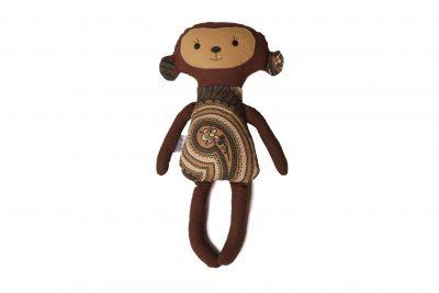 Grikių lukštų žaislas (šildyklė) Beždžionėlė