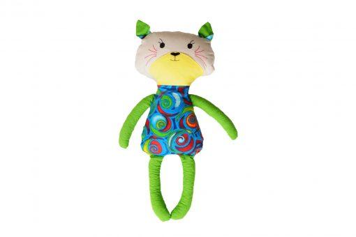 Grikių lukštų žaislas (šildyklė)