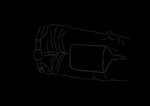 Grikė Kojas skirianti pagalvėlė 2