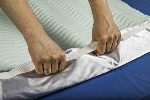 Grikė daugkartinis absorbuojantis paklotas su rankenomis
