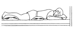 Gulima padėtis ant pilvo